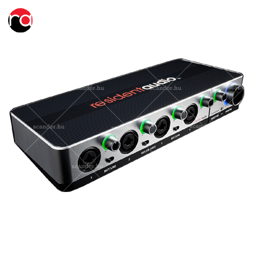 Resident Audio T4 - Thunderbolt 2 audio interface