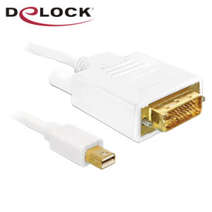 Delock Mini-DisplayPort-DVI - M/M kábel