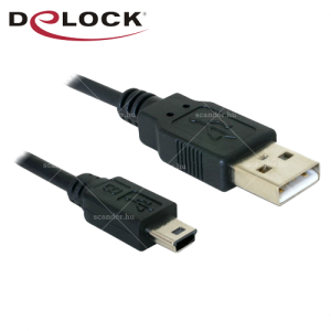 Delock USB 2.0 A-USB mini - M/M kábel